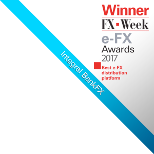 Integral's BankFX™ Awarded Best e -FX distribution platform Award by FX Week